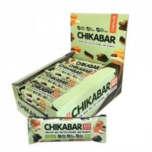 Chikabar арахис с карамельной начинкой (60г)