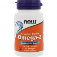 Omega-3 Molecularly Distilled (30капс)